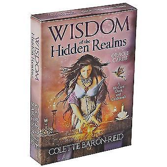 Rider Tarot Cards Skjult Realms engelsk version for begyndere Kortspil (Hidden Realms)