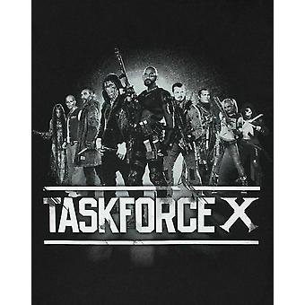 Suicide Squad Official Mens Task Force X T-Shirt