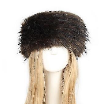 Natural Thicken Fluffy Fur Hat