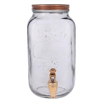 Distributore di bevande Quid Arizona Grigio Vetro (3 L)