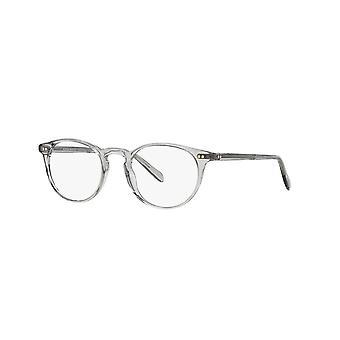 Eyeglasses oliver peoples riley-r ov5004 1132 transparent grey glasses