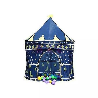 Play tents tunnels welcomed by childrens kids baby pop up play tent fairy girls boys playhouse blue