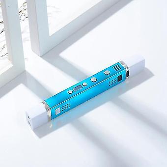 3D-Stift abs / pla / pcl 1,75 mm Filament USB-Aufladen 3D-Druck Stift kreatives SpielzeugGeschenk für Kinder