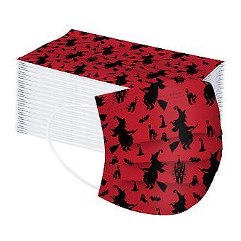 50pc الكبار هالوين الطباعة الشخصية قناع ثلاث طبقات المتاح