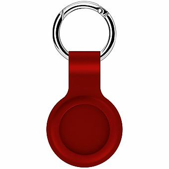 Para Apple Airtag Capa de silicone capa keychain sleeve shell