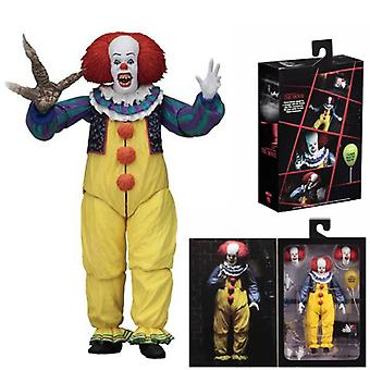 Return Of The Clown It 1990 Edition Old Version Of The Clown 7-inch Face Changeable Joints Movable Hand Model