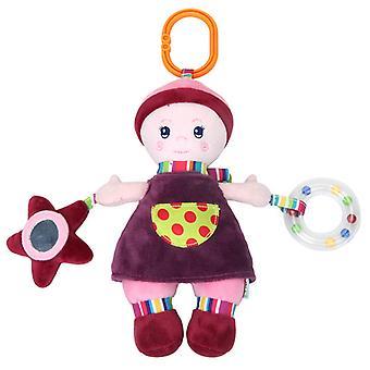 søt dukke baby hengende barnevogn bell leker utvikle leketøy