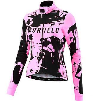 Herbst Frauen Radfahren Jersey Langarm Radfahren Hemd Top Mountainbike Kleidung Pro Team Fahrrad Kleidung Jacke