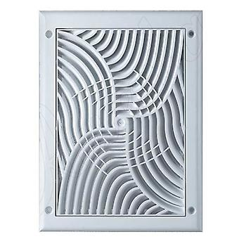 150-220mm Wall Ventilation Grille Cover Anti Insects Net Square Shaped