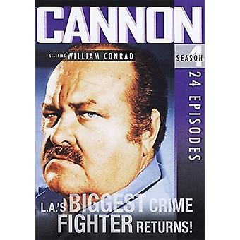 Cannon: Season 4 [DVD] USA import