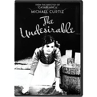 Undesirable [DVD] USA import