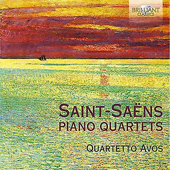 Quartetto Avos - Saint?Saens: Piano Quartets [CD] USA import