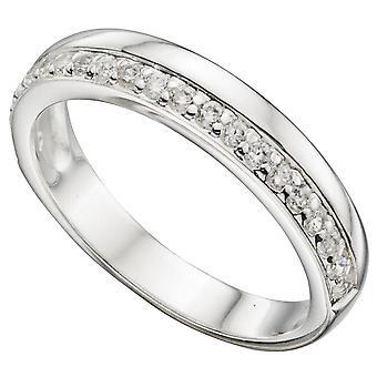 925 Silver Fashionable Zirconia Ring