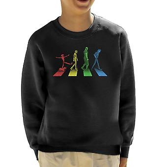 Stray Dog Strut Cowboy Bebop Kid's Sweatshirt