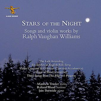 Vaughan Williams / Trusler - Sterne der Nacht [CD] USA Import