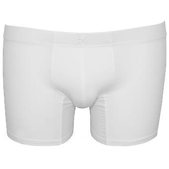 Ermenegildo Zegna Stretch Cotton Boxer Brief, branco