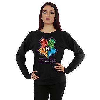 Harry Potter Women's Hogwarts Junior Crest Sweatshirt