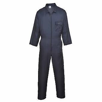 sUw - Nylon Zip Workwear Coverall Boilersuit