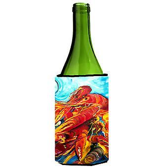 Botella de vino bebidas aislador Hugger de cangrejos