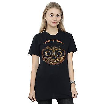 Disney Women's Coco Miguel Face Boyfriend Fit T-Shirt