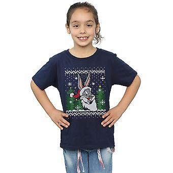 Looney Tunes Bugs Bunny Christmas Fair Isle t-shirt