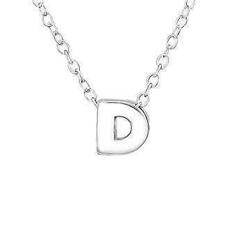 D - 925 Sterling Silver Plain Necklaces - W21827X