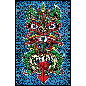 Chris Dyer Angel Of Death Blacklight Poster Poster Print