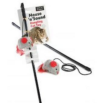 Sharples Ruff ´N´ Tumble Mouse ´N´ Sound Cat Toy