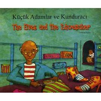 De Elfen en de schoenmaker in het Turks en Engels door Henriette Barkow & geïllustreerd door Jago