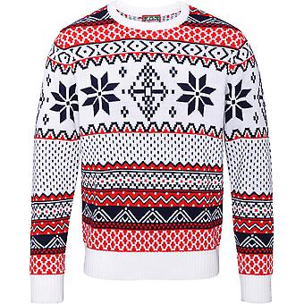 Christmas Mens & Womens Traditional Stylish Nordic Sweater Jumper