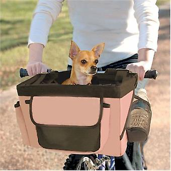 VALENTINA VALENTTI BICYCLE PET CARRIER FRONT BOX PINK