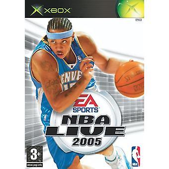 NBA Live 2005 (Xbox) - New