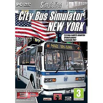 City Bus Simulator New York ekstra Play (PC DVD)-ny