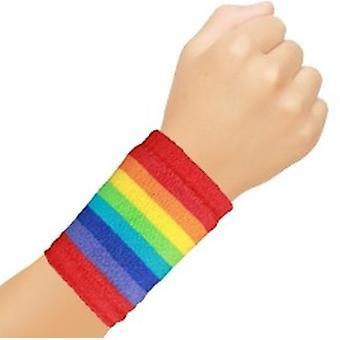 Rainbow Sweatbands