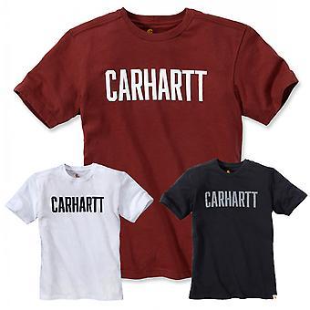 Carhartt Miesten t-paita Maddock graafinen lohko logo