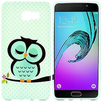 Silikonowe etui case motyw 41 dla systemu Samsung Galaxy A5 2016 A510F