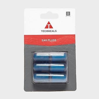 New Technicals Ear Plugs 3Pk Noise Reduction Ear Plugs Bluemoon