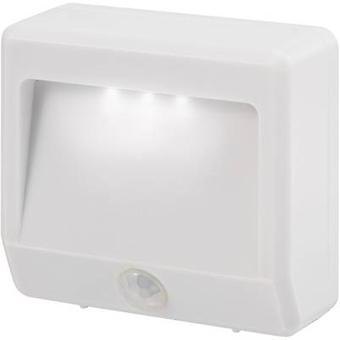 Renkforce Girona EMN404PIR LED night light (+ motion detector) Rectangular LED (monochrome) Cold white White