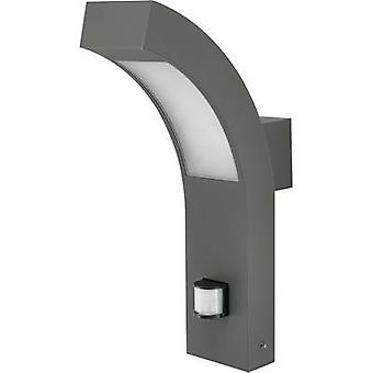 12535 LED outdoor wall light (+ motion detector) 4.2 W Warm white Anthracite