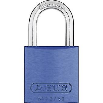 ABUS ABVS46772 hänglås 39 mm blå nyckel
