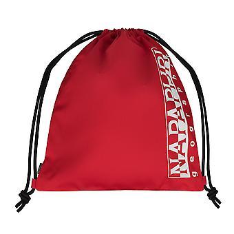 Napapijri gym heureux sac sac à dos loisirs sac bandoulière sac de sport rouge 7408