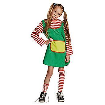 Brat kinderen kostuum meisjes carnaval