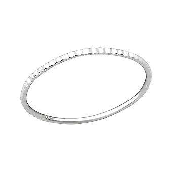 Band - 925 Sterling Silber Plain Ringe - W34907x