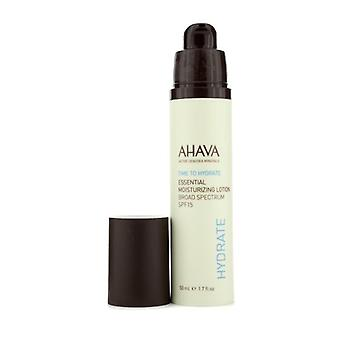 Ahava Time To Hydrate Essential Moisturizing Lotion Spf 15 - 50ml/1.7oz