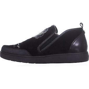 Donald J Pliner Womens Mylasp-OL Leather Low Top Zipper Fashion Sneakers