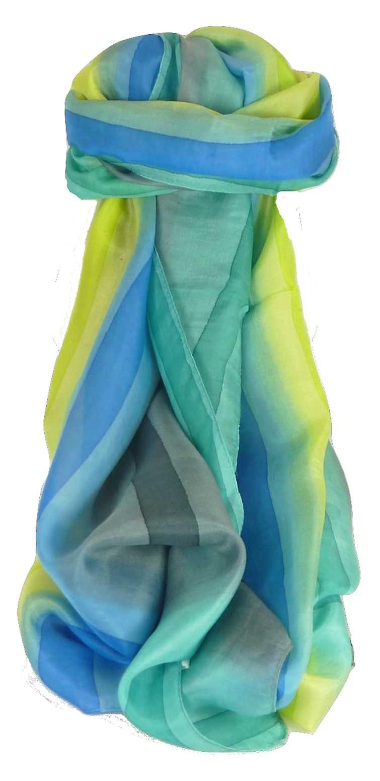 Mulberry Silk Classic Long Scarf Kumar Rainbow Palette by Pashmina & Silk