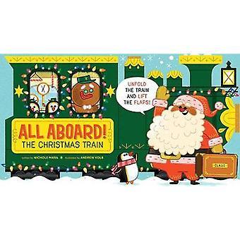 Alla ombord! Christmas tåget av alla ombord! Tåget jul-