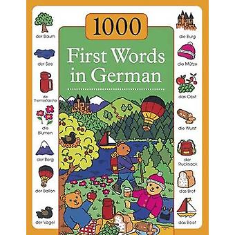 1000 First Words in German by Andrea Kenkmann - Susie Lacome - 978184