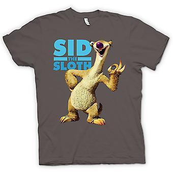 Mens t-skjorte - is alder - Sid Sloth