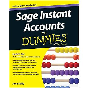 Sage Instant konti For Dummies (For Dummies (computere))